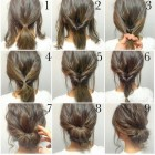 Fast easy updos for long hair