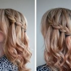 Hairdos for medium length hair