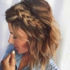 Hairstyles for mid hair