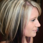 Medium length haircuts and color