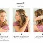 Quick easy hairstyles for medium hair