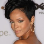 Short black hairdos