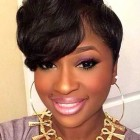 Short layered haircuts black women
