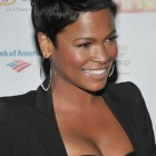 Short pixie black hairstyles