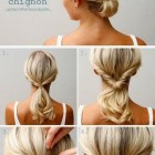 Simple hair updos for long hair