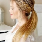 Simple hairdos for long hair