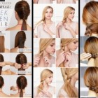 Simple hairstyles for thick long hair