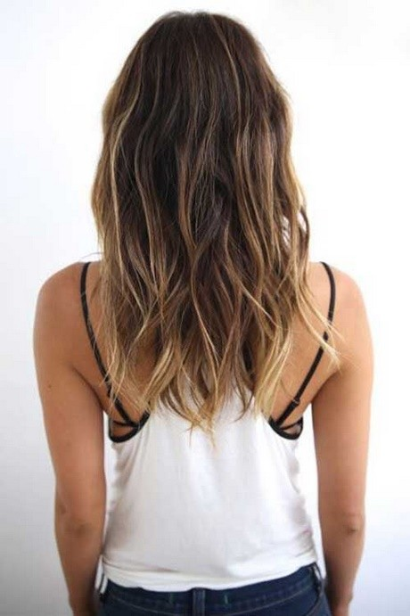 Style medium long hair