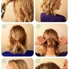 What to do with shoulder length hair