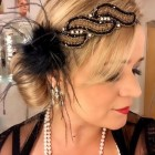 1920s long hair updo