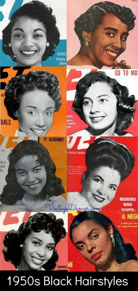 1950s african american hairstyles