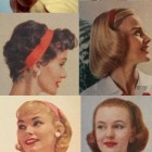 1950s hairstyles for medium hair