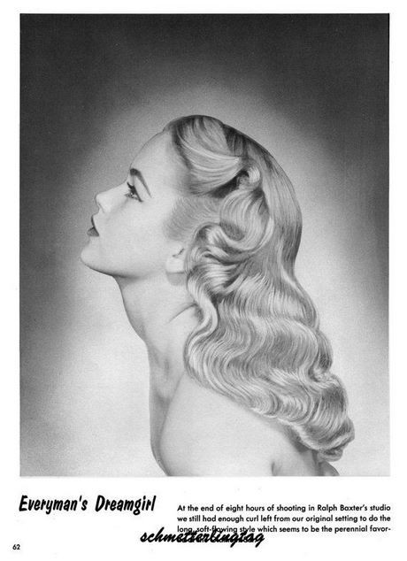 1950s prom hair