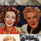 50s hairstyles for curly hair