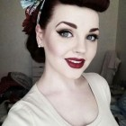 50s makeup and hair