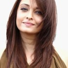Best layered haircuts for round faces