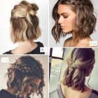 Bob hair up ideas