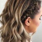 Cute braided updos for short hair