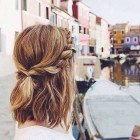 Cute simple updos for short hair