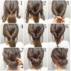 Different simple hairstyles for medium hair