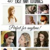 Easy 1950s hairstyles