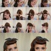 Easy 50s hairstyles for long hair