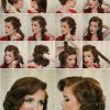 Easy 50s hairstyles for short hair