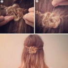 Easy basic hairstyles