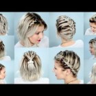 Easy diy hairstyles for short hair