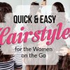Easy hairstyles for ladies