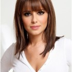 Easy hairstyles with bangs