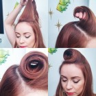 Easy pinup hair