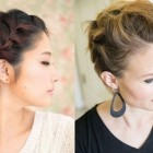 Easy to make hairstyles for short hair