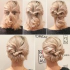 Easy updos for short fine hair