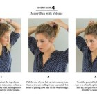 Easy ways to put short hair up