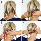 Easy ways to put up short hair
