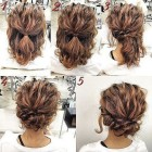 Easy wedding updos for short hair
