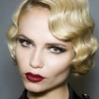 Fifties hairstyles for short hair