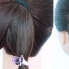 Hairstyle in simple
