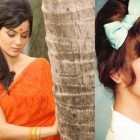 Indian retro hairstyles for long hair