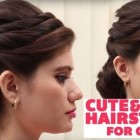 Latest simple hairstyles