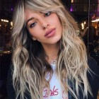 Long fringe hairstyles