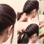 New simple hairstyle for girls