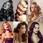 Old fashioned curly hairstyles