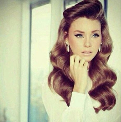 Old fashioned hairstyles for long hair