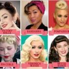 Pin up hair cuts