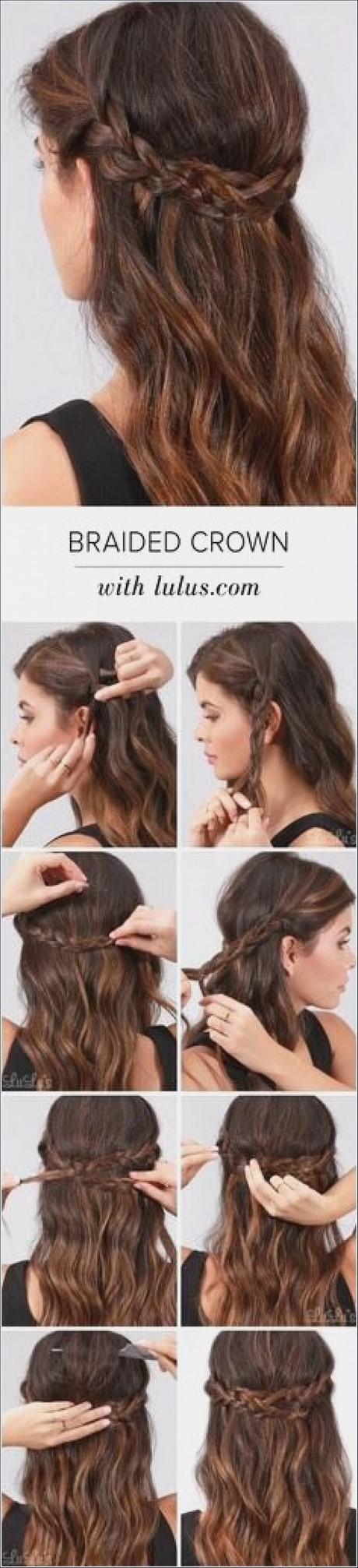 Pretty and simple hairstyles