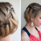 Pretty hairdos for short hair