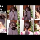 Quick and easy hairstyles for girls with medium hair