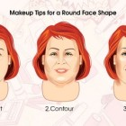 Round face shape hairstyles female